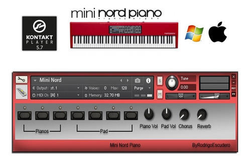 nord stage 2 + stage 3 + piano 3 + electro 3d + montage +s90