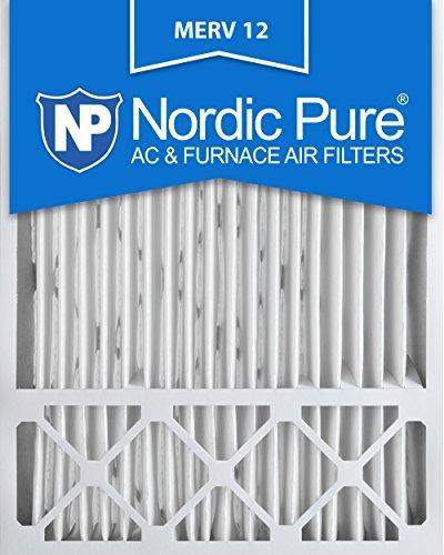 nordic pure 20x25x5 (4-3 / 8) merv 12 honeywell fc100a1037 f