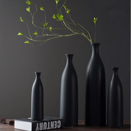 nórdico estilo cerámico jarrones decorativo mesa de pie fl