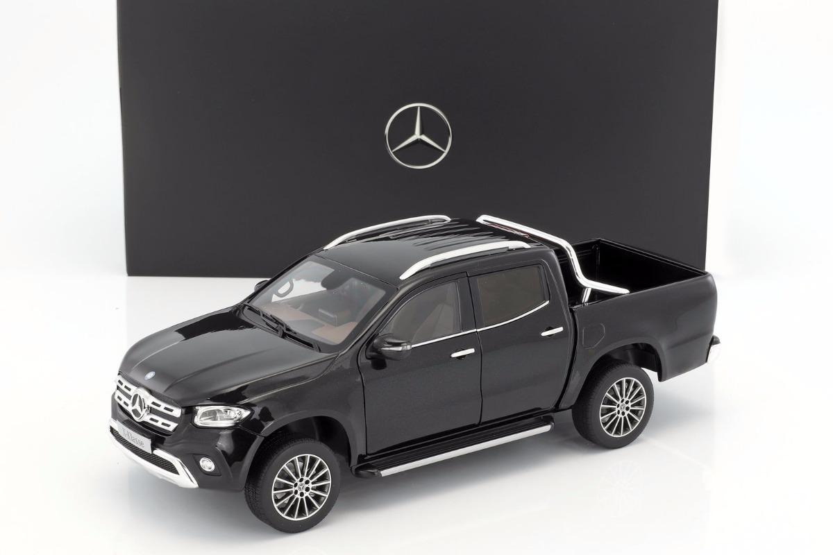 norev 1 18 mercedes benz classe x pick up 2018 preta r 779 00 em mercado livre. Black Bedroom Furniture Sets. Home Design Ideas