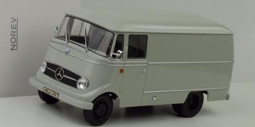 norev 1/18 mercedes l319 furgão 1955 183415 frete grátis