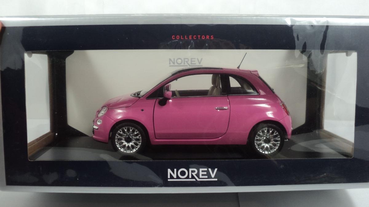 Norev Escala 1 18 Fiat 500 Rosa