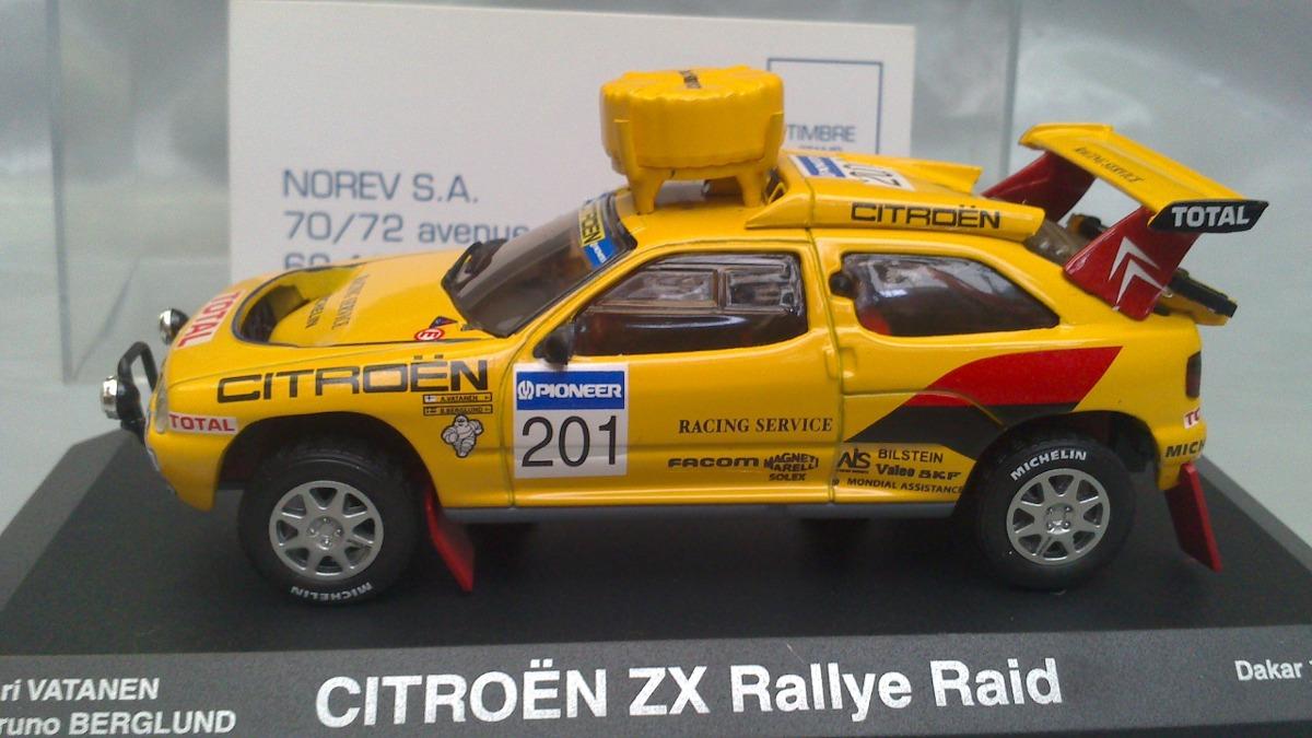 Norev Escala 1  43 Citroen Zx Rallye Raid Dakar