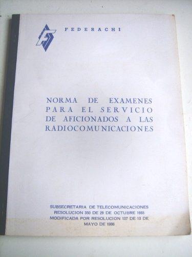 norma de exámenes para el servicio de radiocomunicaciones