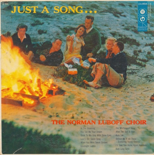 norman luboff choir - lp just a song (1956) u s a