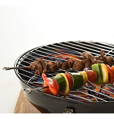 norpro 1933 12  s/s skewers barbeque grilling camping, mars