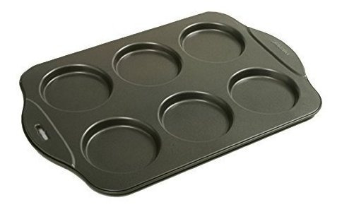 norpro puffy muffin top pan hace 6 antiadherente high rise c