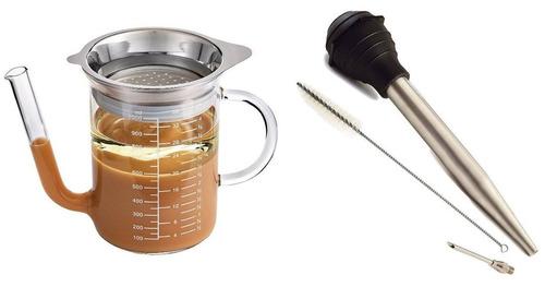 norpro turquía baster de acero inoxidable inc + envio gratis