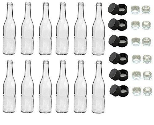 norte montaña suministro clear vidrio woozy salsa botellas