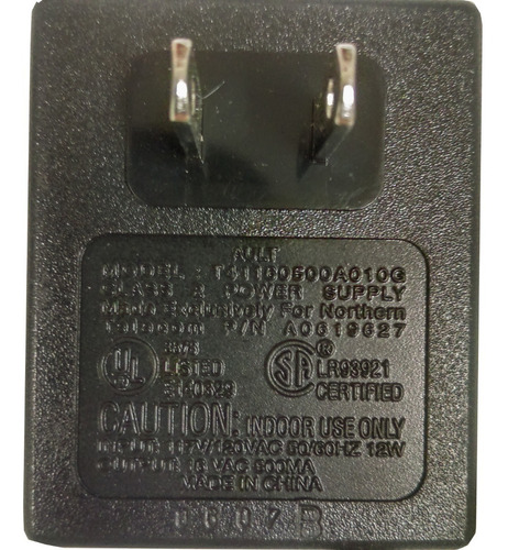 nortel adaptador - eliminador 16v-500ma - a41160500a010g