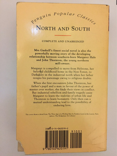 north and south elizabeth gaskell english novel classic book