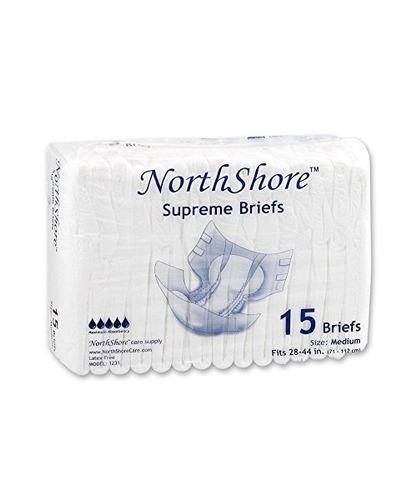 northshore supreme briefs, medium, paquete /15