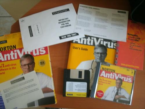 norton antivirus original v. 5.0. envio gratis