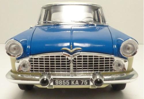 norv 1/18 simca vedette chambord 1960 frete gratis metal