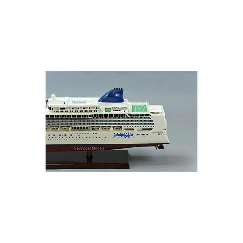 Norwegian Jewel Cruise Ship 40 Modelo De Barco De Madera Hec ...