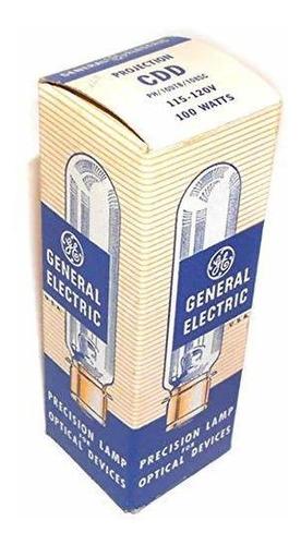 nos general electric cdd 100 w 120 v foco lampara foco