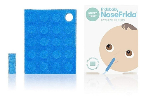 nosefrida aspirador nasal + 20 filtros entrega inmediata