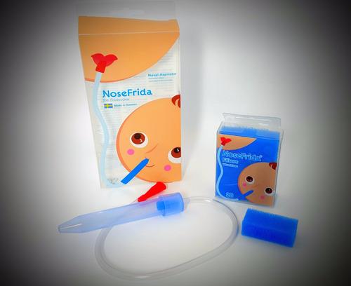 nosefrida - aspirador nasal + 20 filtros extras