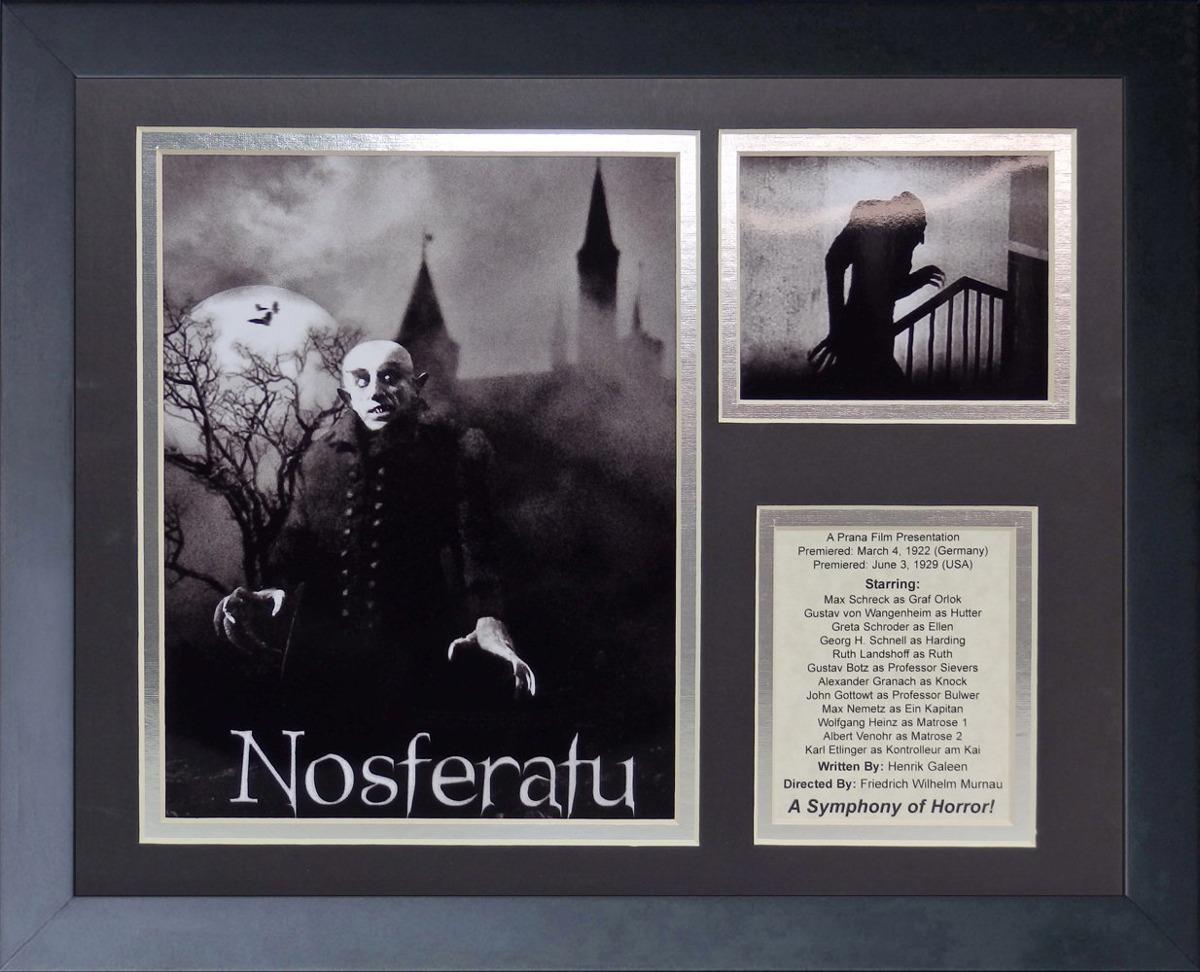 Nosferatu (1922) Collage De Fotos Con Marco De 11 X 14 ...