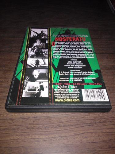 nosferatu / f w murnau / the original silent vampire classic