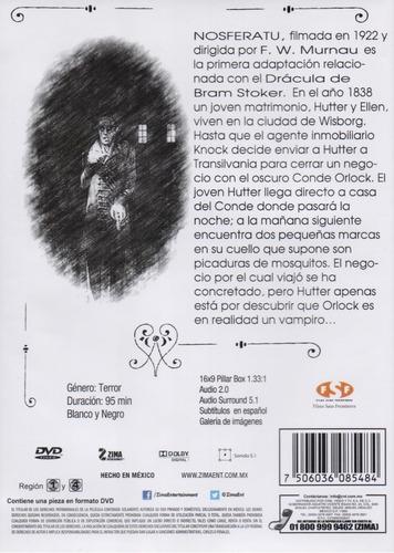 nosferatu una sinfonia del horror 1922 pelicula dvd