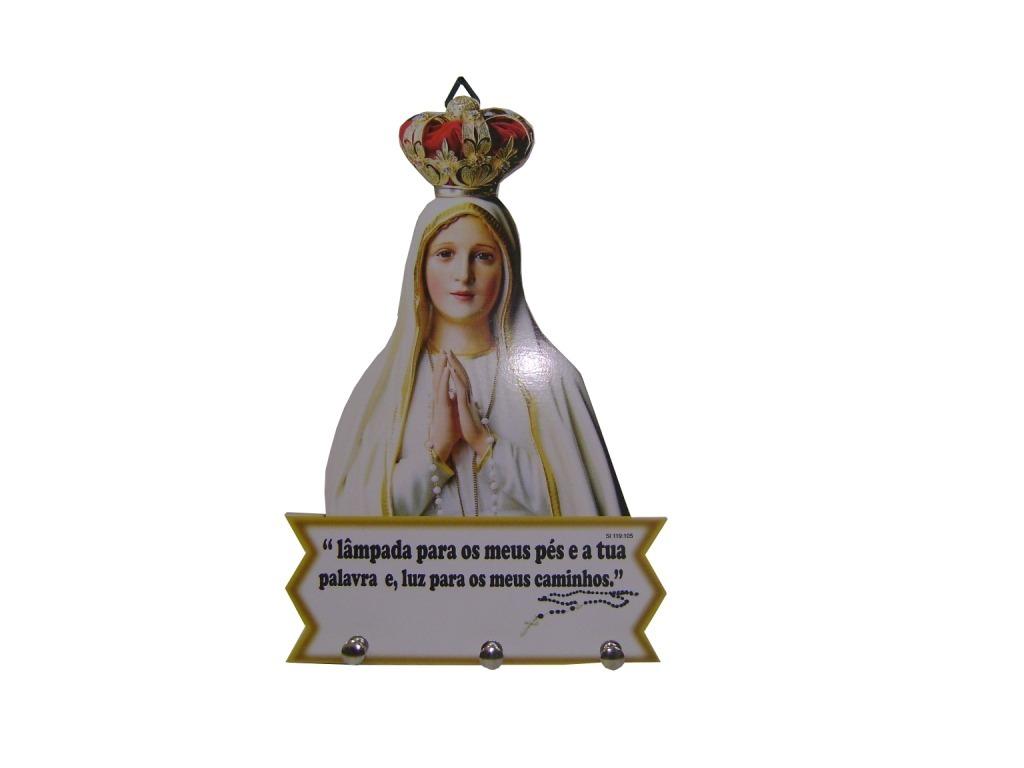 Nossa Senhora De Fatima Modelo Porta Chaves R 20 95 Em Mercado