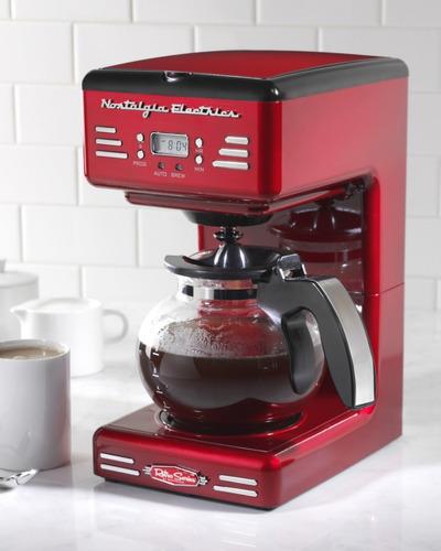 nostalgia cafetera 50s-style 12 tazas | rcof120