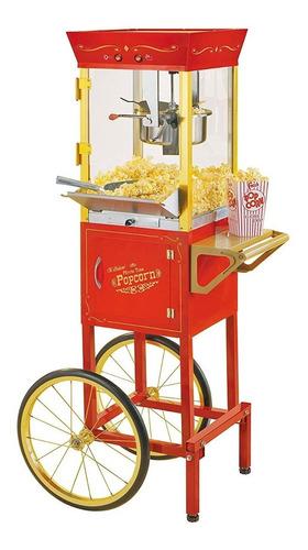 nostalgia ccp510 vintage 6 onzas comercial popcorn cart - !