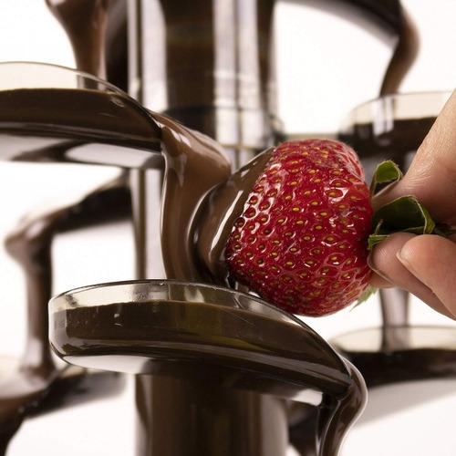 nostalgia cff1000 fondue fuente de chocolate cascada