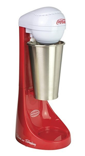 nostalgia coca-cola® two-speed milkshake maker | mlks100coke