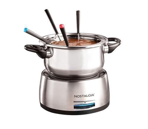 nostalgia fps200 olla eléctrica de la fondue de 6 tazas d