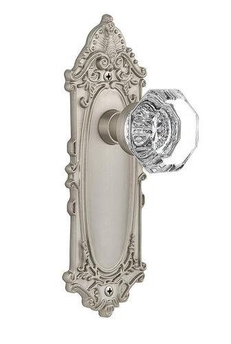 nostálgico almacén placa victoriano con perilla waldorf, p