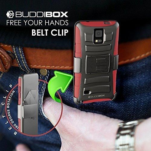 nota 4 hseries casos buddibox rojo