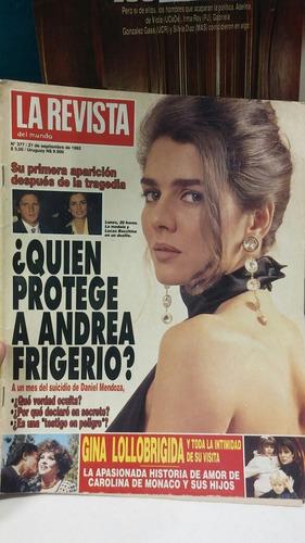 nota de revista de andrea frigerio de 1992