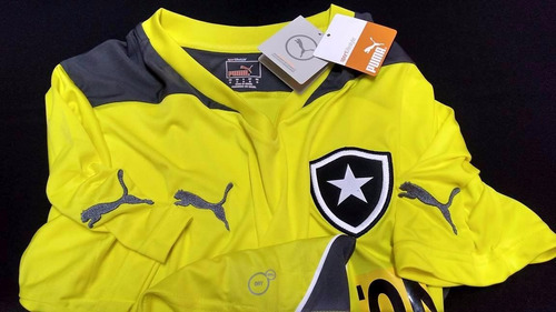 nota fiscal camisa botafogo oficial puma amarela treino 2014