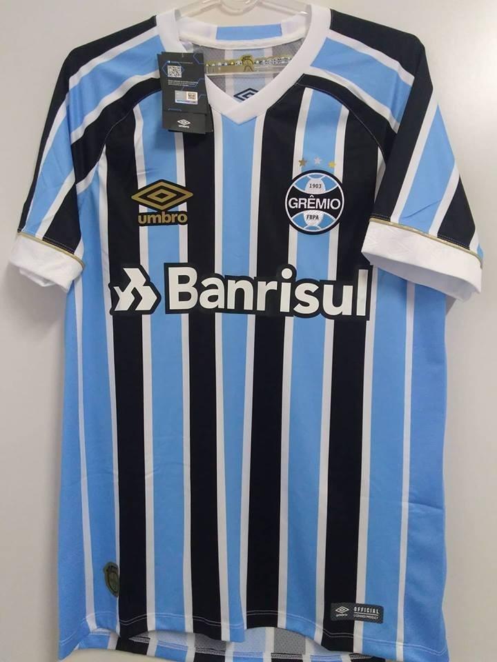 0791a73e79ba4 Nota Fiscal! Camisa Gremio Game Jogador Oficial Umbro 2018 - R  179 ...