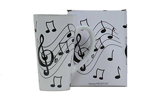 nota musical de jazz de cerámica café / té taza del viaje d