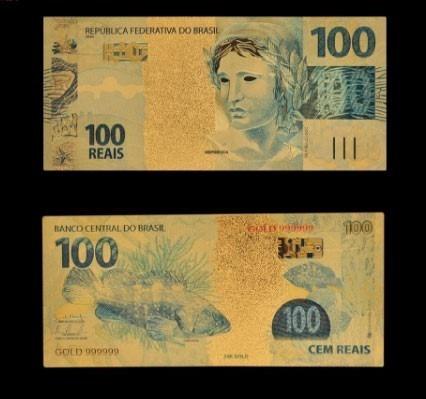 100 Dolares 500 Euros Reais