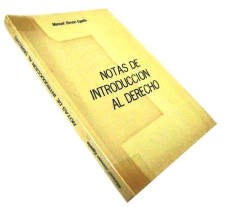 notas de introducción al derecho