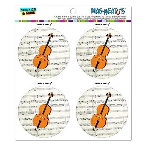 notas de la música de violonchelo clave de sol mag-neato's