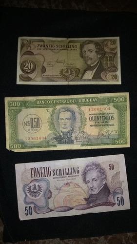 notas estrangeiras