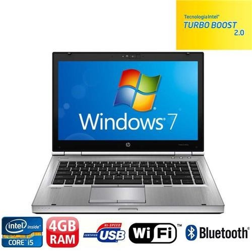 notbook hp elitebook corei5 4 gb hd 250 gb