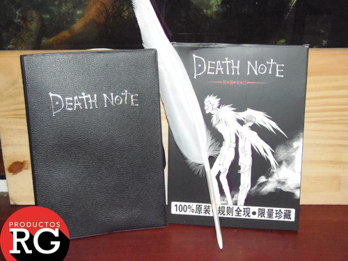 note anime death