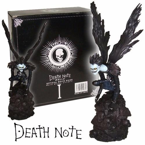 note coleccionable figura death