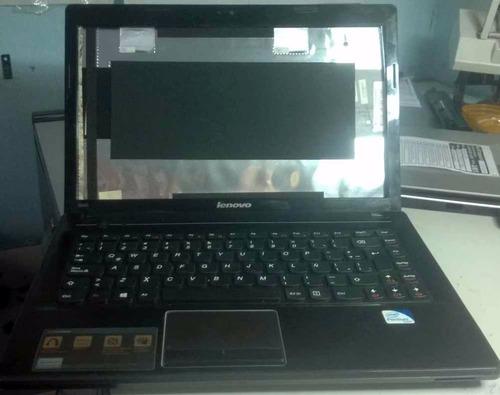 note lenovo g480, carcaza superior, media inferi, y teclado.