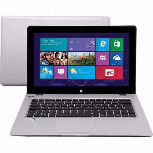 notebook 11b-s1023w8 tela touch 2gb ram 320gb 11.6  hdmi