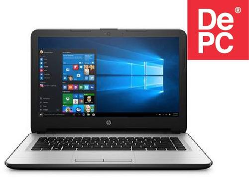 notebook 14  hp am003-la intel n3060 4gb 500 gb - depc