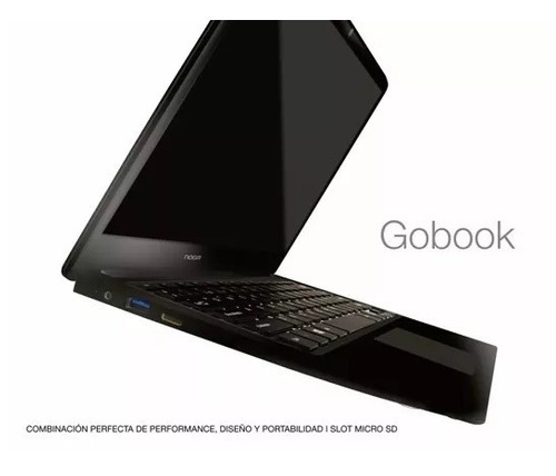 notebook 14.1 ultra slim gobook 1366x768 windows10 garantia