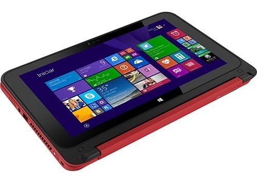 notebook 2 em 1 intel celeron 4gb  500gb touch + multifunci