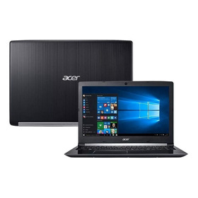 Notebook Acer 15,6´´ Intel I5-7200u, 4gb, 1tb, A515-51-55qd